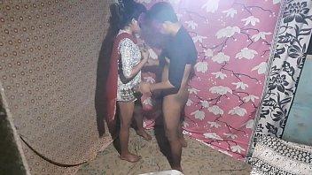सेक्सी युवा भाभी के साथ भारतीय युगल चुदाई
