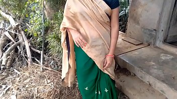 भारतीय भाभी चूत और आउटडोर में